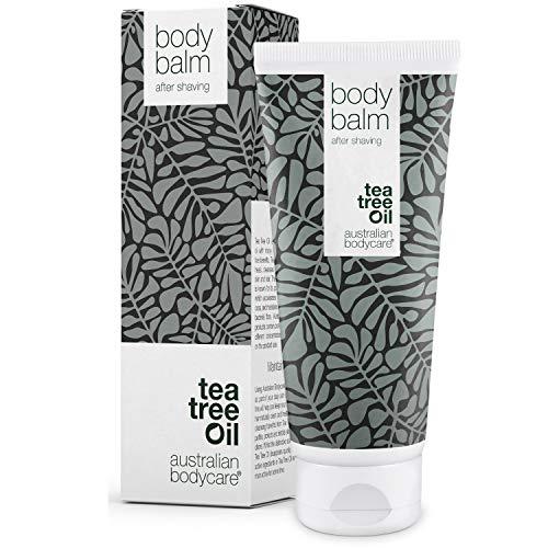 Australian Bodycare Body Balm 200ml | Aftershave Balsam gegen Eingewachsene Haare, Rasurbrand & rote Pickel...