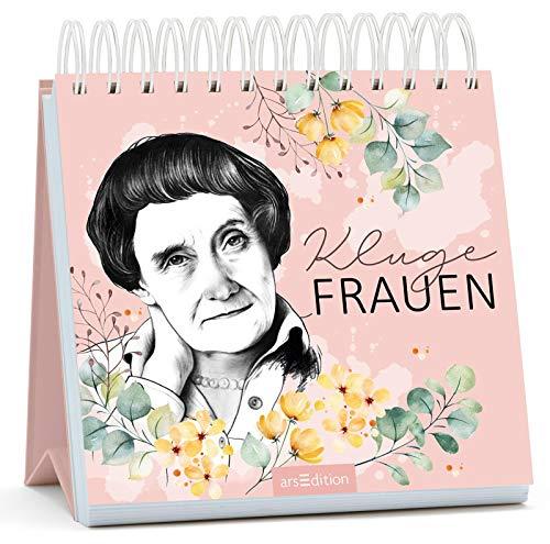 Kluge Frauen: Inspirierende Zitate von Astrid Lindgren und anderen außergewöhnlichen Frauen   Aufsteller für Frauen mit Köpfchen in schönem Design
