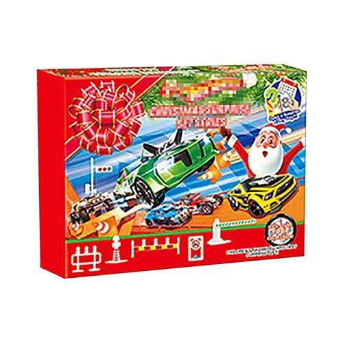 Foxglove Auto Adventskalender 2021 - Weihnachten Countdown Kalender Mit 24 Überraschungen   24 Tage Adventskalender Fahrzeugen Spielzeuge   Weihnachtskalender Für Kinder Mädchen Und Jungen