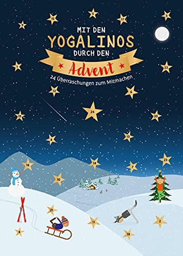 Mit den Yogalinos durch den Advent: 24 Überraschungen zum Mitmachen