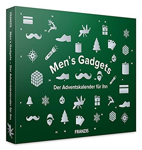 Franzis 67388-6 Men's Gadget-Der Adventskalender für Ihn, 24 Überraschungen für echte Kerle, bunt