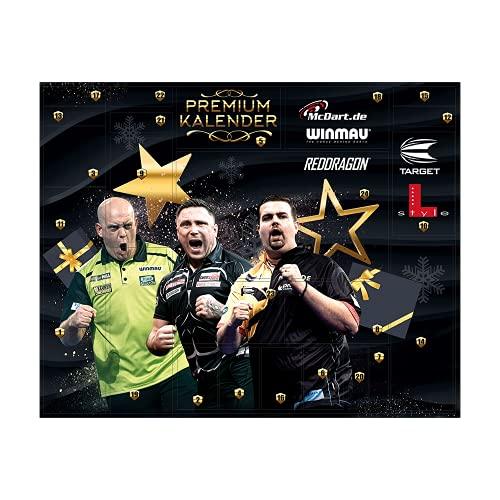 McDart Darts Adventskalender 2021 - Premium Edition