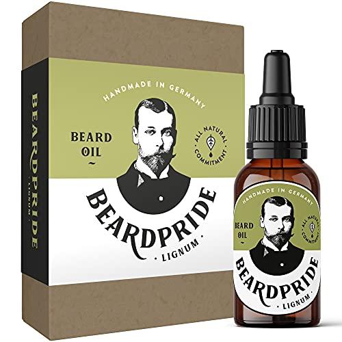 BEARDPRIDE Bartöl Herren - Lignum - Das Original Bart Öl aus dem Barbershop - Unser Bartpflege Öl macht den...
