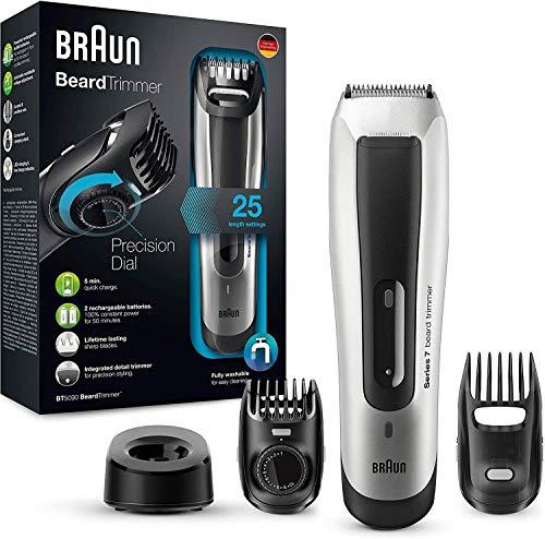 Braun Bartschneider BT5090 – Barttrimmer und Haarschneider, ultimative Präzision für ideales Trimmen und...