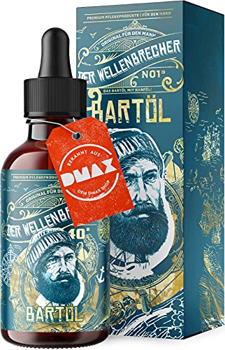 *NEU* Der Wellenbrecher Bartöl I Das natürliche Bart Öl für echte Männer I Bartpflege Made in Germany I...