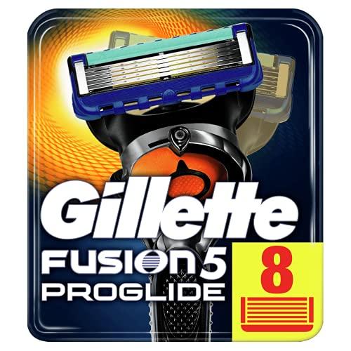 Gillette Fusion 5 ProGlide Rasierklingen für Männer, mit FlexBall Technologie, Passt sich den Konturen an, 8...