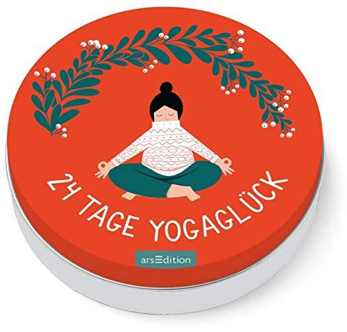 24 Tage Yogaglück: Der Yoga-Adventskalender in der Dose