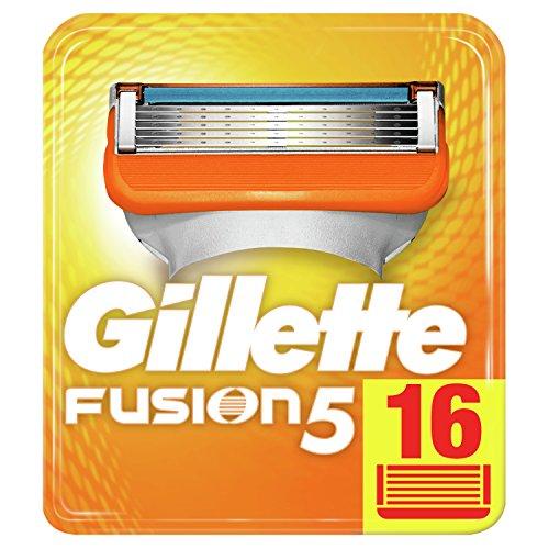 Gillette Fusion 5 Rasierklingen Für Männer, 16Stück, Briefkastenfähige Verpackung (Verpackung kann...