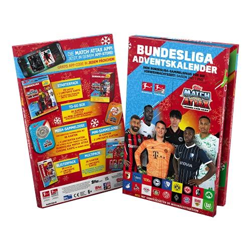 Bundesliga Match Attax 2021/2022 - Adventskalender