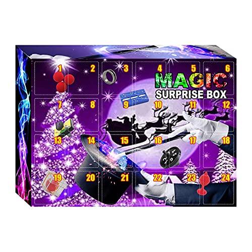 WOTEG Adventskalender 2021 Weihnachten Adventskalender Box Dekompressionsspielzeug Spannender Weihnachtskalender Mit 24 Stressabbau Zappelspielzeug Weihnachts Adventskalender Weihnachtszauber Box