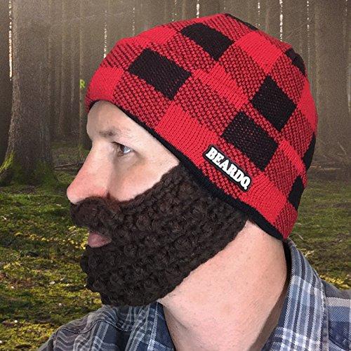 Beardo ® Original Bartmütze Bartmützen (verschiedene Farbkombinationen) - mit abnehm- und verstellbarem...