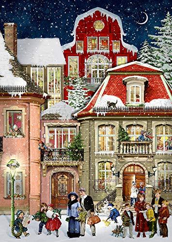 A4-Wandkalender - In der Weihnachtsgasse