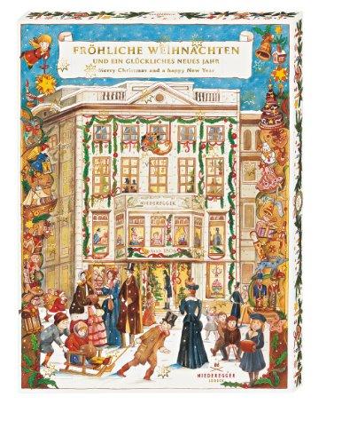 Niederegger Adventskalender 'Café Niederegger' mit feinsten Pralinen und 32 Türchen, 1er Pack (1 x 525 g)