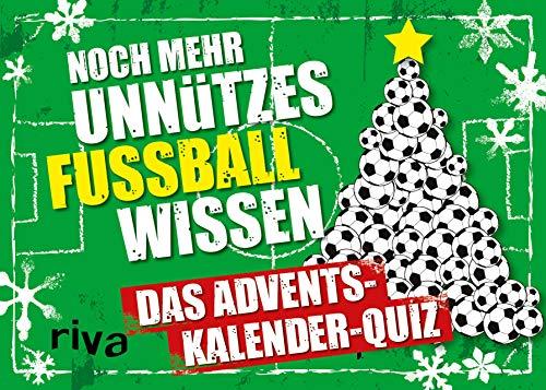 Noch mehr unnützes Fußballwissen Quiz: Das Adventskalender-Quiz