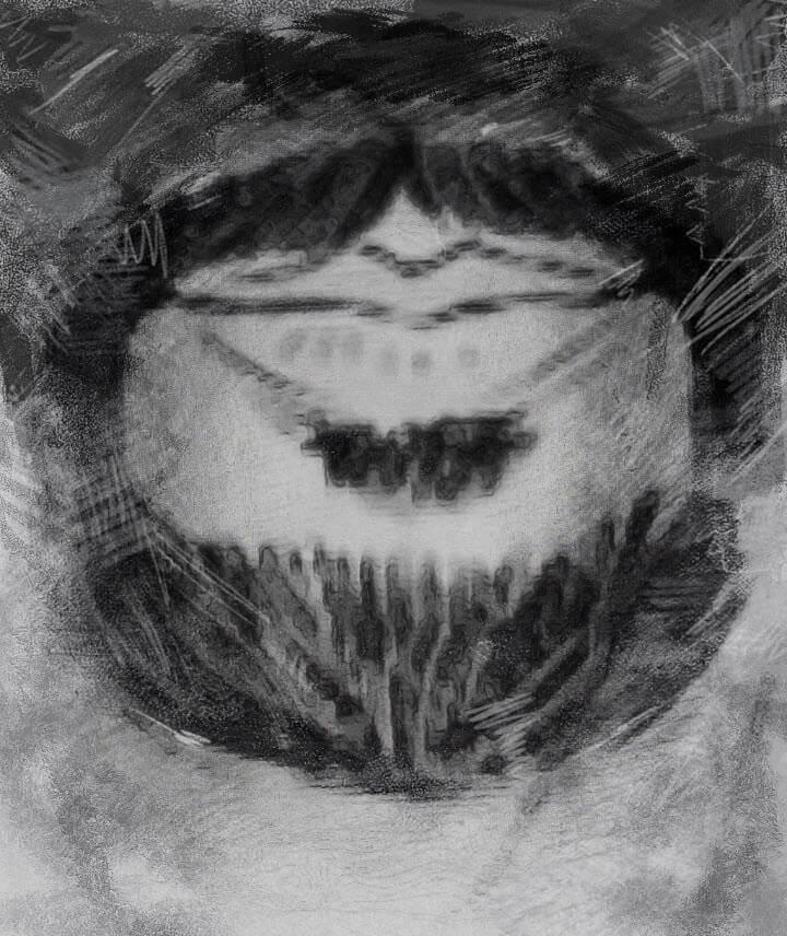Formen kinnbart 40 Bart